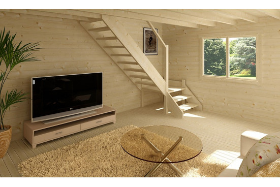 Chalet Narbonne 1B 70mm - 20 + 20m²